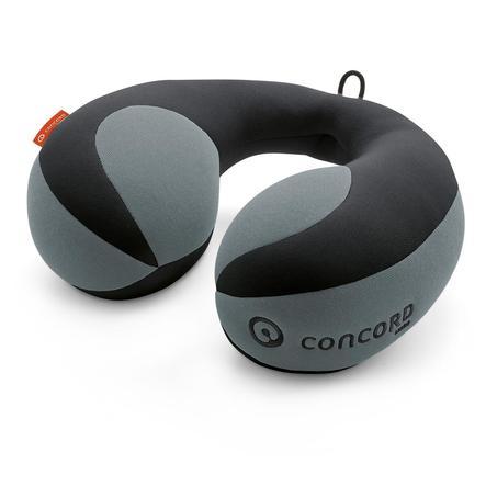 CONCORD Cuscino da viaggio Luna Midnight Black, nero/grigio