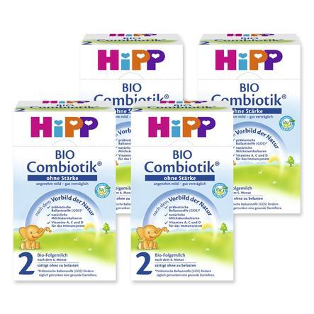 HiPP 2 Bio Combiotik ® Folgemilch ohne Stärke 4 x 600g