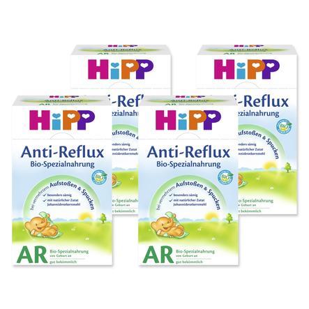 HiPP Bio-Spezialnahrung AR Anti-Reflux von Geburt an 4 x 500 g