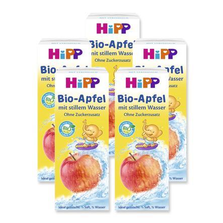 HiPP Bio Trink Spaß Apfel mit stillem Wasser 5 x 200 ml