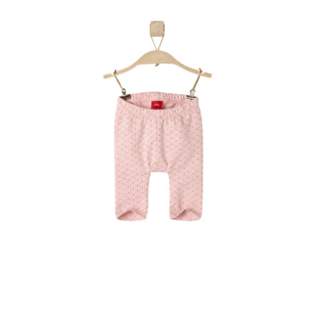 s.OLIVER Girls Baby Leggings pink melange
