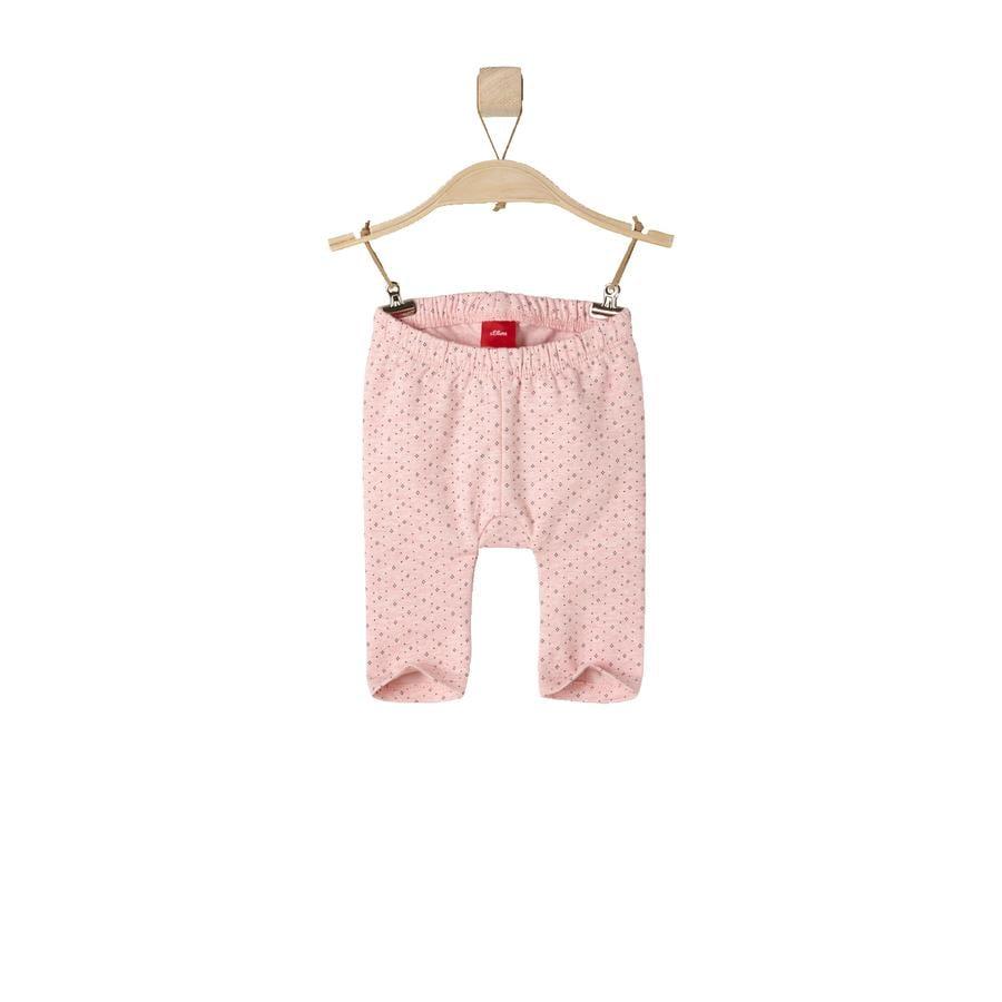 s.OLIVER Girl s Baby legging roze melange