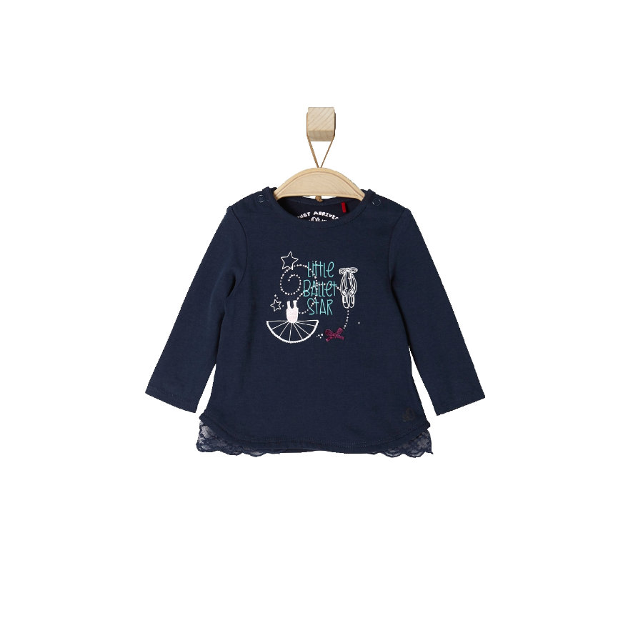s.OLIVER Girls Baby Longsleeve dark blue