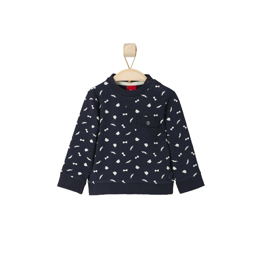 s.OLIVER Boys Mini Sweatshirt dark blue