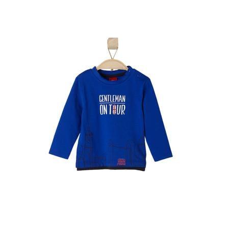 s.OLIVER Boys Mini Maglietta a Manica Lunga blu