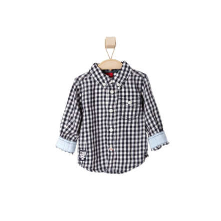 s.OLIVER Boys Mini Koszula dark blue