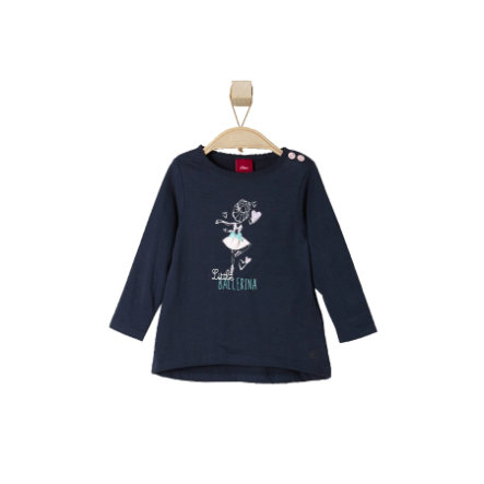 s.OLIVER Girls Mini Longsleeve dark blue