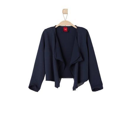 s.OLIVER Girl s Mini Sweat Jacket donkerblauw