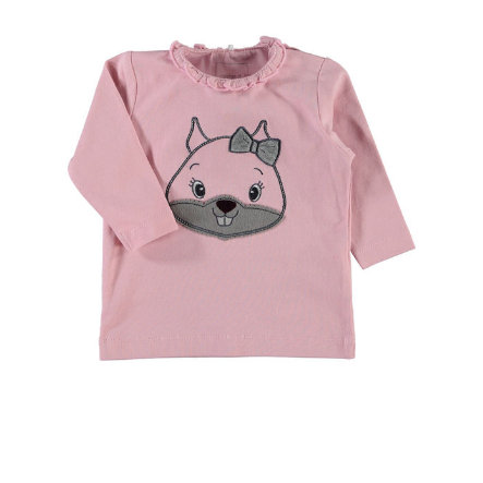 NAME IT Girls Baby Longsleeve NITOTOJA pink nectar