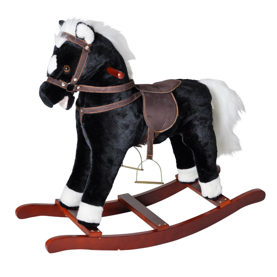 KNORRTOYS Cheval à bascule Blacky, sons