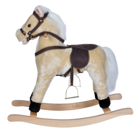 KNORRTOYS Cheval à bascule Sugar, sons