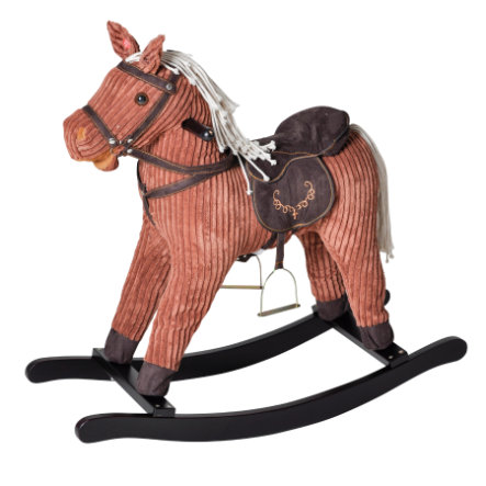 KNORRTOYS Cheval à bascule Conni, sons