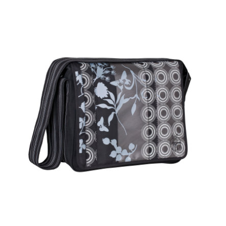 LÄSSIG Skötväska Messenger Bag Casual Colored black