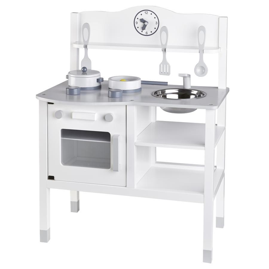 KIDS CONCEPT keuken, wit/grijs