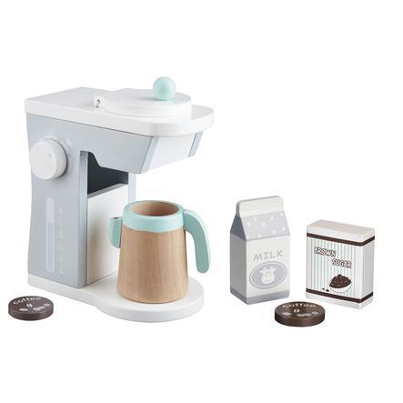 Kids Concept® Macchina del caffè bianco/grigio