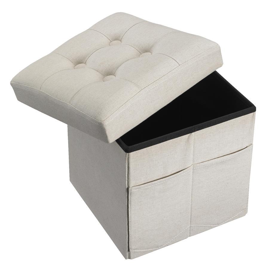Kids Concept® Sitzwürfel beige