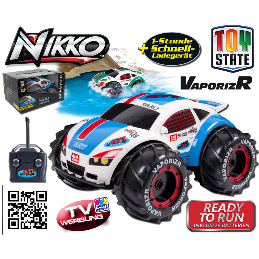 Nikko VaporizR, blau, 27MHz + 40MHz