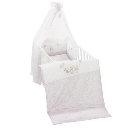 3 Tlg Bettwäsche Nestchen Babybettwäsche Kissenbezüge Bettgarnitur Krone