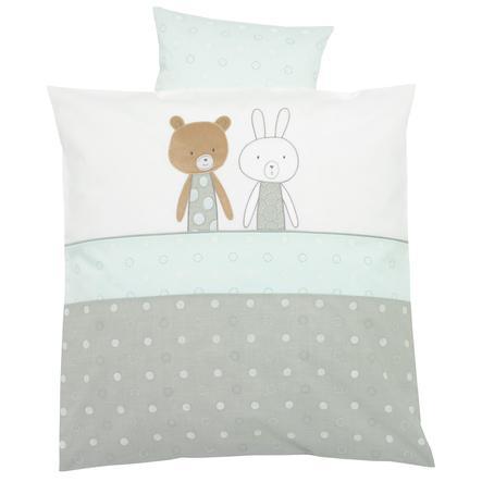 Alvi Ropa de cama 80 x 80 cm, Amistad azul
