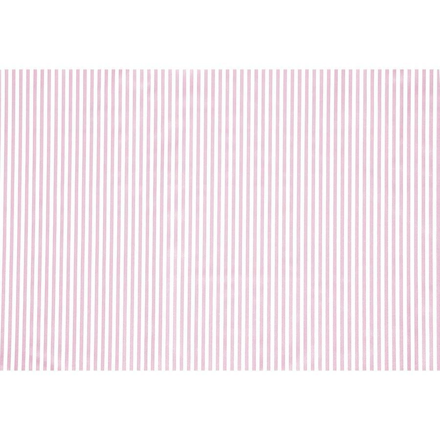 Alvi Wickelauflage Wiko Molly Folie Streifen rosa 75x85 cm