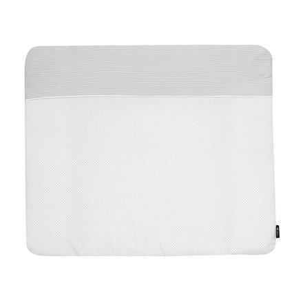 Alvi Materassino per fasciatoio con rivestimento Little Dots grigio 70 x 85 cm
