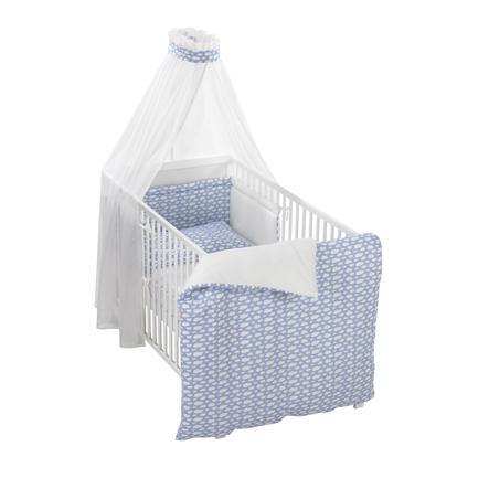 ALVI Set de lit Voile à nuages, bleu