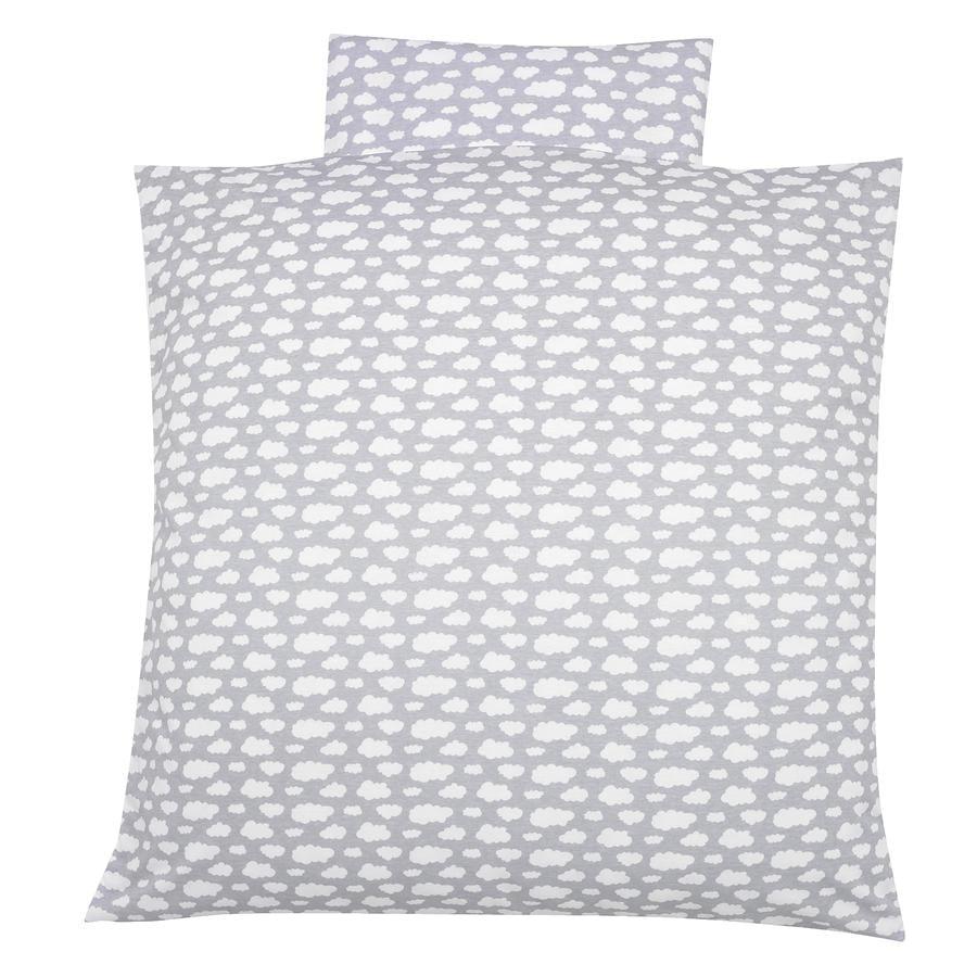 Alvi ropa de cama 80 x 80 cm, Voile gris nube