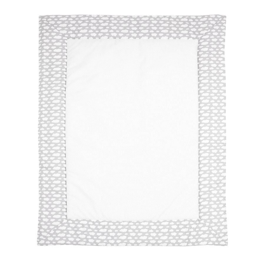 Alvi Hrací deka Wolke Voile stříbrná 100 x 135 cm