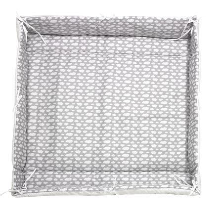 ALVI Rivestimento universale per box Nuvole Voile argento 70x100 cm