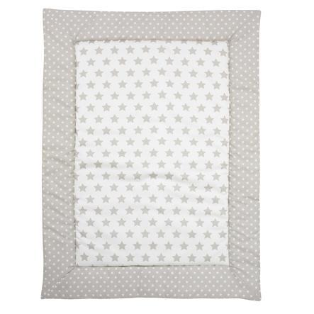 Alvi Hrací deka velké hvězdy Voile béžová 100 x 135 cm