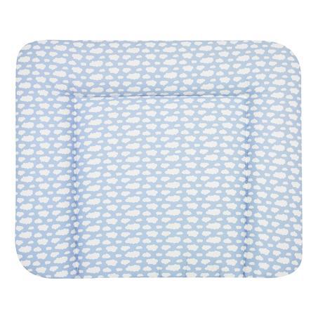 Alvi Materassino per fasciatoio Wiko Molly Nuvole Voile blu 70x85 cm