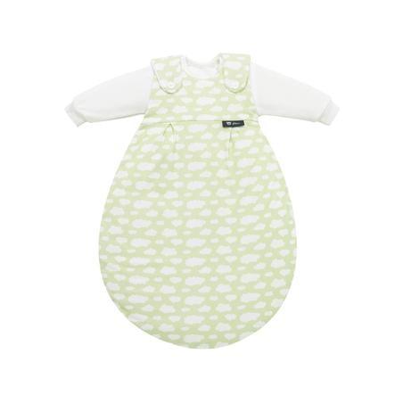 ALVI Gigoteuse Baby-Mäxchen Jersey, 3 pièces,  Nuage, vert