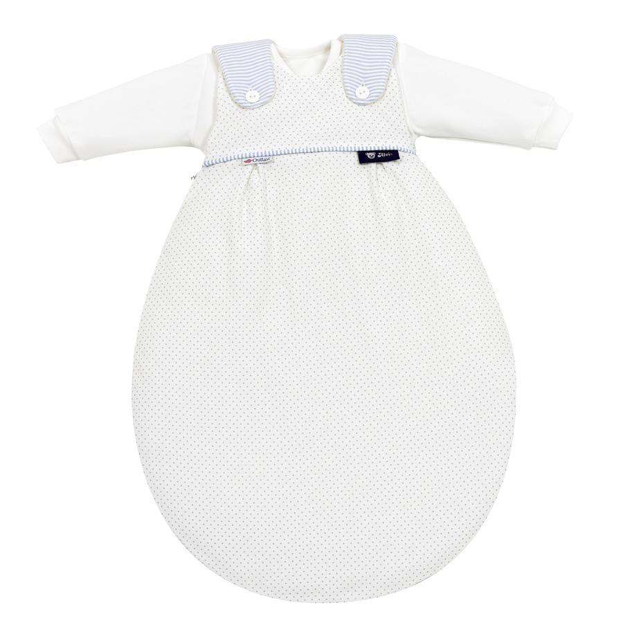 ALVI Baby-Mäxchen 3 dílný spací pytel Outlast Little Dots modrý