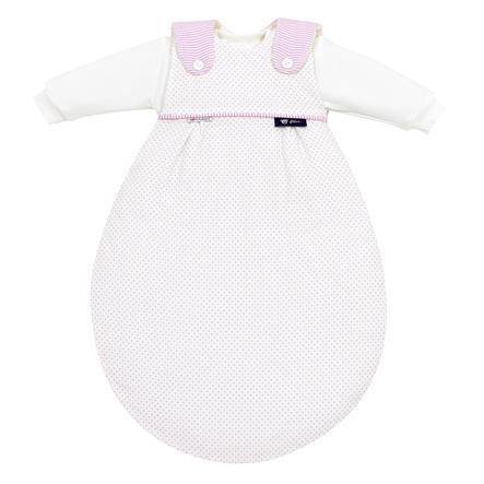 ALVI Baby-Mäxchen 3 dílný spací pytel Outlast Little Dots růžový