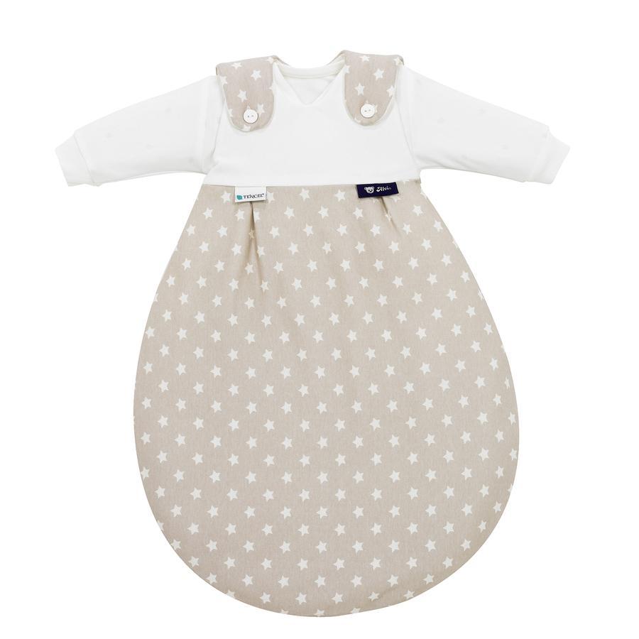 Alvi Baby-Mäxchen 3tlg. Tencel Stars beige