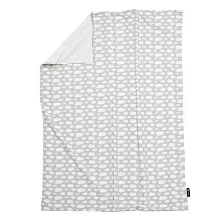 ALVI Deka Jersey obláček stříbrná 75 x 100 cm