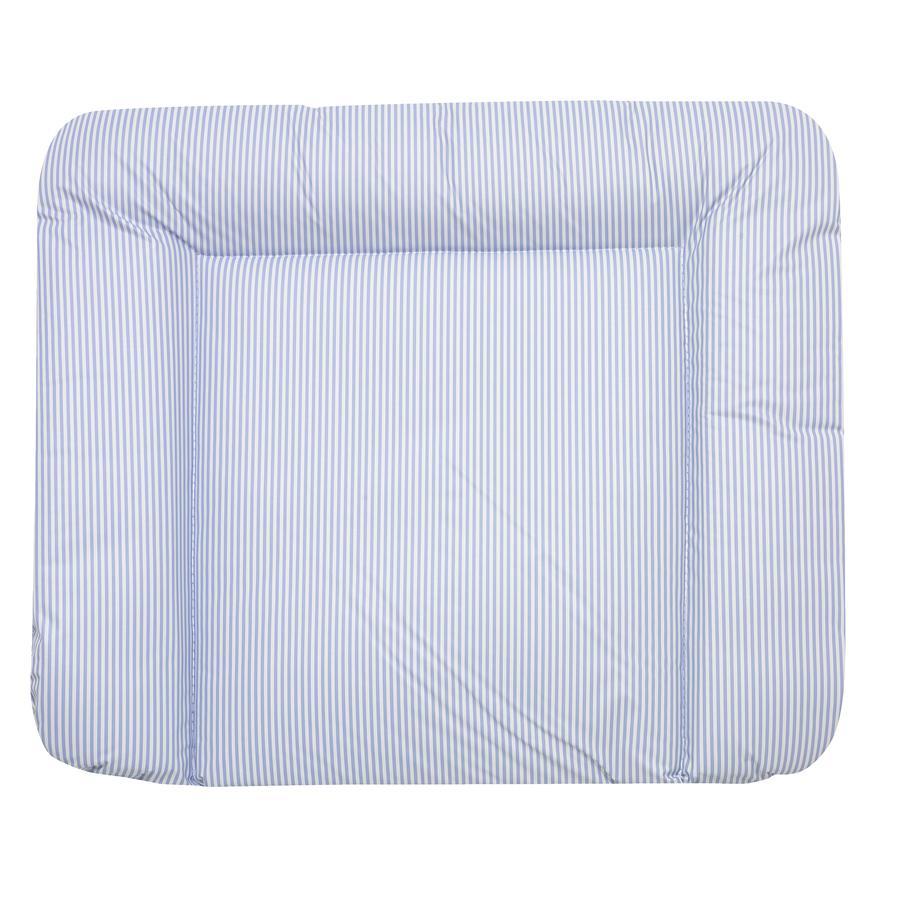 Alvi Materassino per il cambio Molly righe blu 75x85 cm
