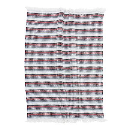 ALVI Bavlněná deka Navi proužkovaná 75 x 100 cm