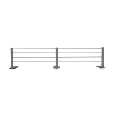 REER Sponda di protezione per il letto - acciaio