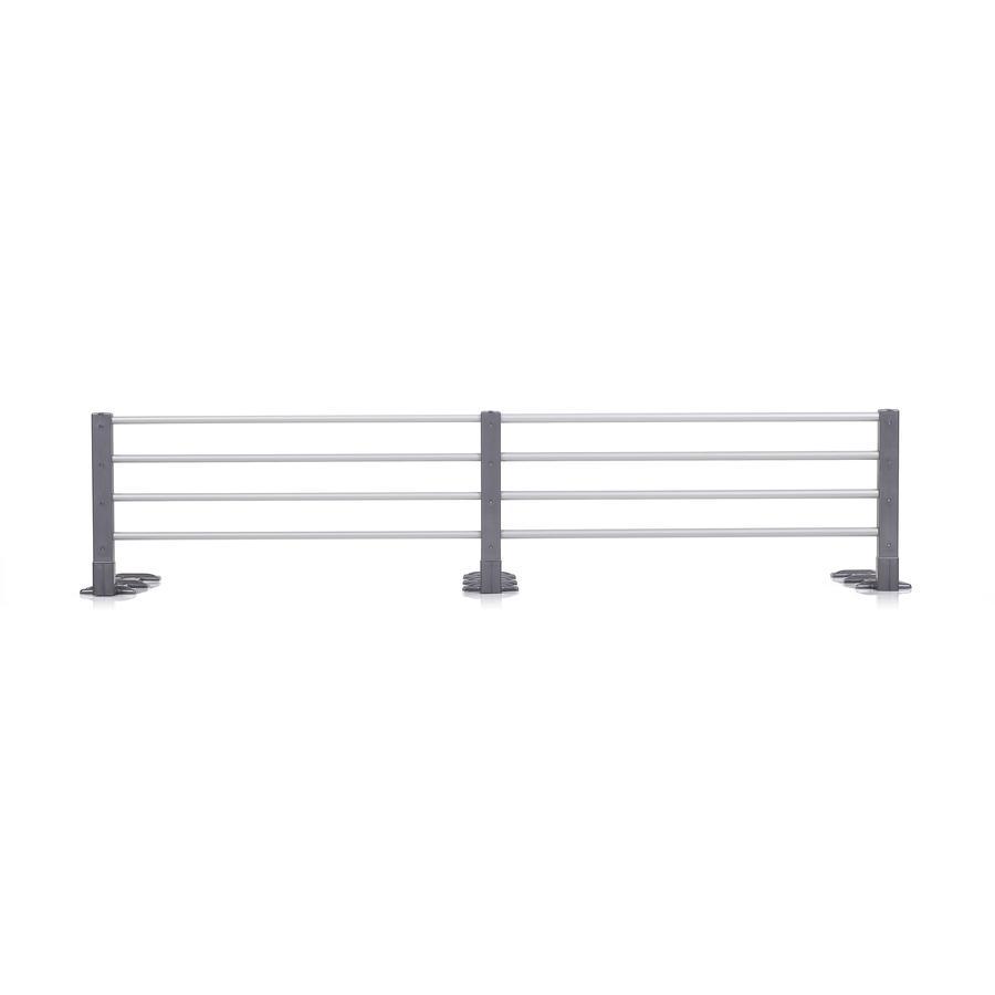 REER Barierka ochronna do łóżka (4504.8) kolor stalowy