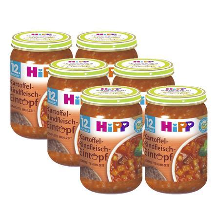 HiPP Kartoffel-Rindfleisch-Eintopf 6 x250 g