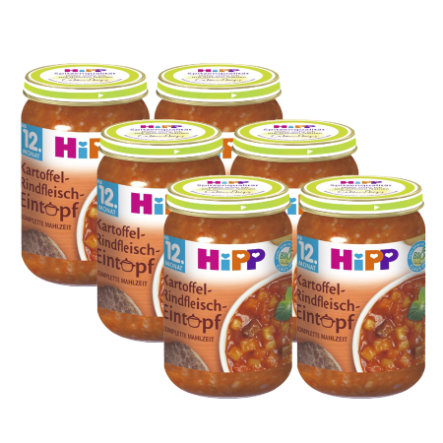 HiPP Potato-Beef Stew 6x250g