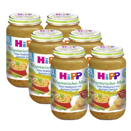 HiPP Mac and Cheese with Vegetable Mix 6x220g