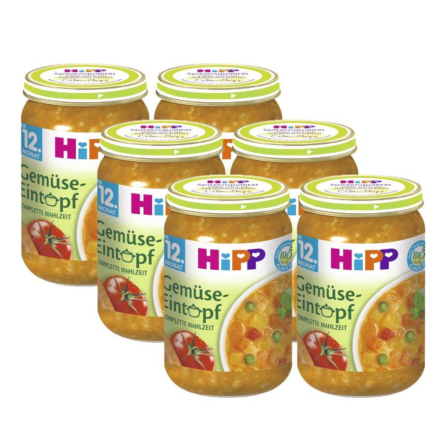 HiPP Vegetable Stew 6x250g