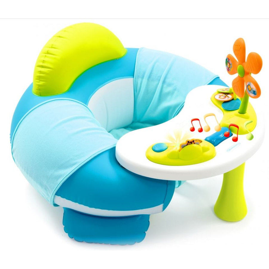 SMOBY Cotoons - Youpi Baby Activity-Tisch, blau