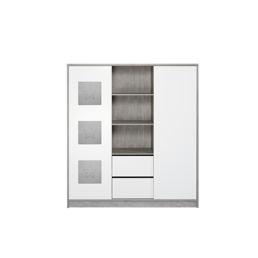 SCHARDT Eco Star Armoire 2 portes avec étagères centrales