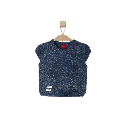 s.OLIVER Girls Mini Sweter dark blue