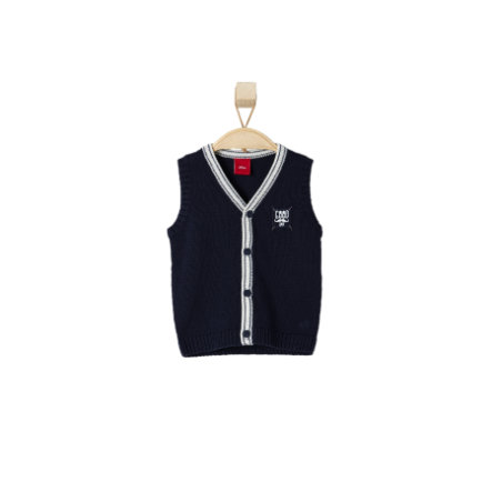 s.OLIVER Boys Mini Pullunder dark blue