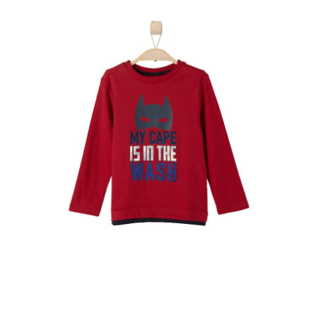 s.OLIVER Boys Mini Longsleeve red