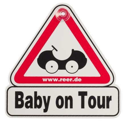 REER Verkeersbord voor op het autoraam - Baby on Tour
